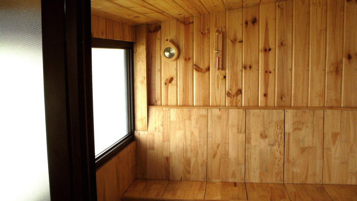 Po wyjściu z sauny